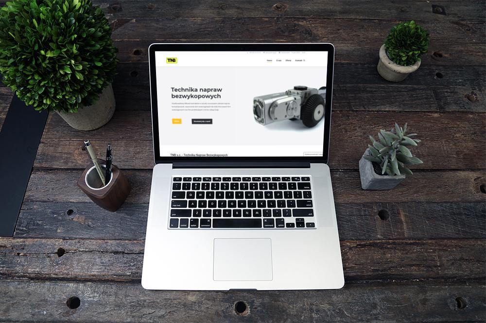 Nowa strona internetowa dla firmy TNB s.c.
