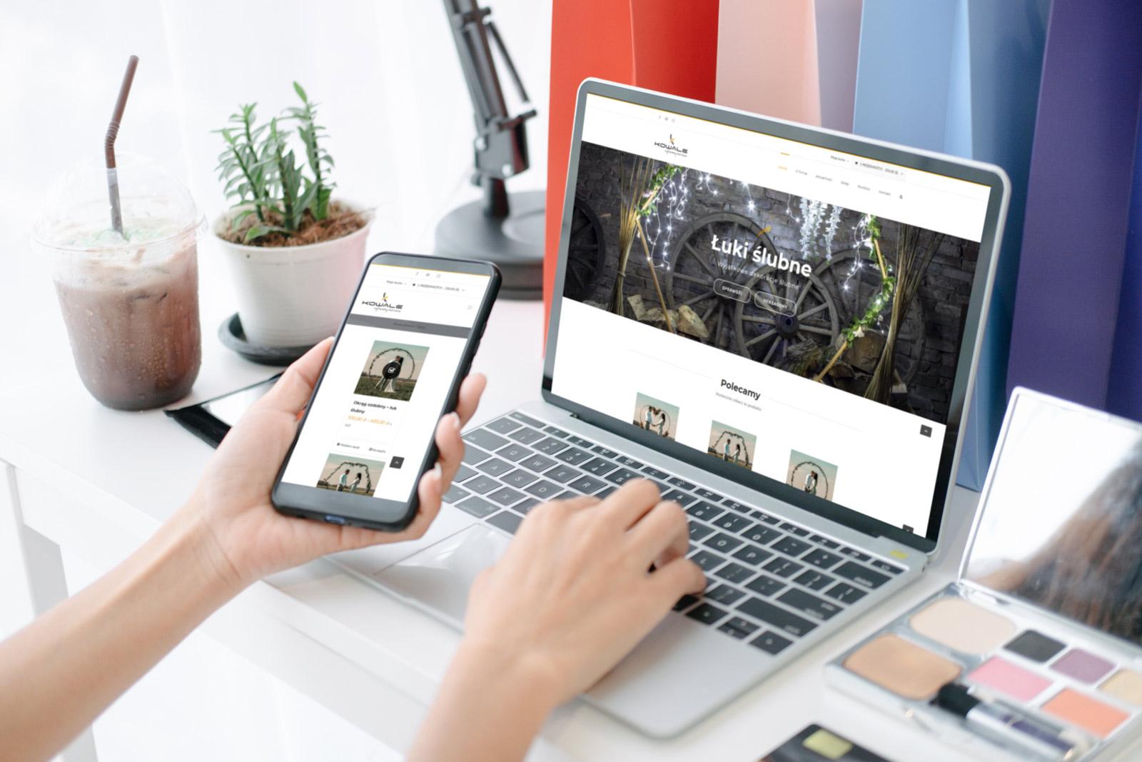 Sklep internetowy z łukami ślubnymi